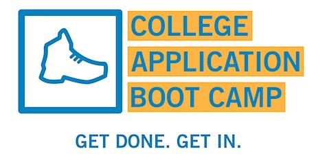 College Application Summer Boot Camp 2021 - Milwaukee tickets