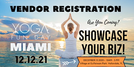 Yoga Fun Day Miami Village at  Gulfstream Park Vendor tickets