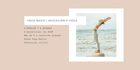 Yoga Basics | Curso de introducción al yoga tickets