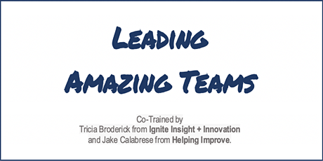Agile Leadership: Leading Amazing Teams (LAT) -  Virtual tickets