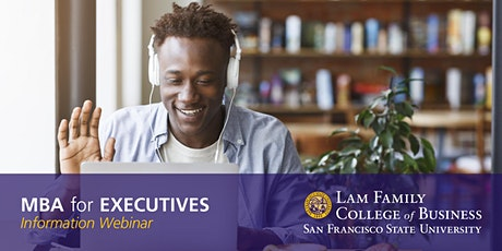 MBA for Executives- Information Webinar tickets