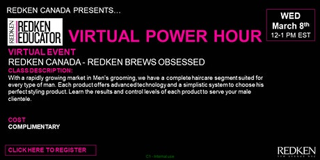 REDKEN CANADA - REDKEN BREWS OBSESSED tickets