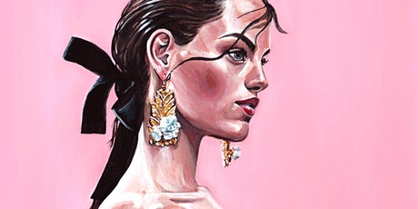 1-2-1 Private Art Lesson with Fashion Illustrator Rebecca Feneley tickets