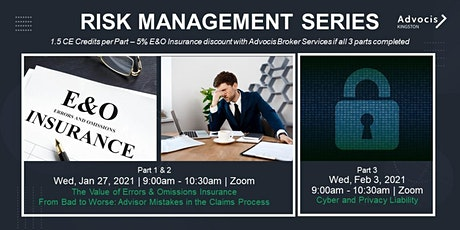 Advocis Kingston:  Risk Management Video Series tickets