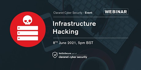 Infrastructure Hacking - Webinar tickets