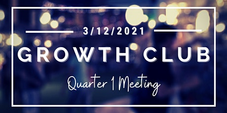 GrowthCLUB Q1 Planning tickets
