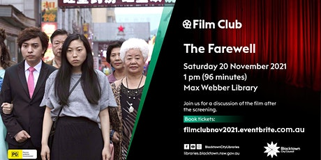 Film Club: The Farewell tickets