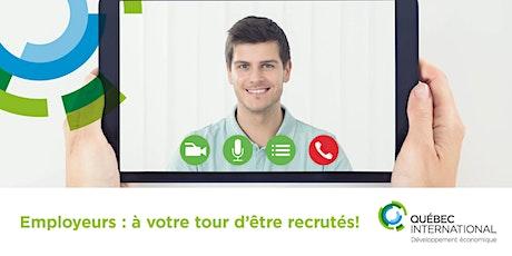 Employeurs : à votre tour d'être recrutés ! (candidats) billets