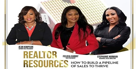 Realtor Resources: How to Build a Pipeline of Sales to Thrive tickets