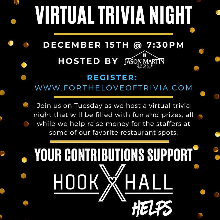 Virtual Trivia Night- Back to the Basics: Fun, Prizes & Helping Our Friends image