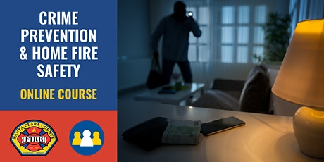ONLINE Course: Crime Prevention & Home Fire Safety - Saratoga tickets