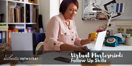 Virtual Mastermind (free online roundtable): Follow Up Skills tickets