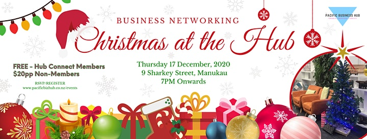 Business Networking: Christmas at the Hub image