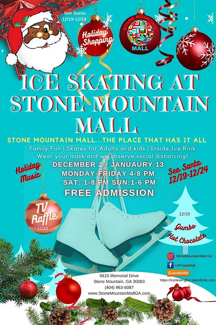 Ice Skating at Stone Mountain Mall image