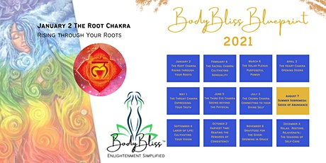 BodyBliss Blueprint 2021 tickets