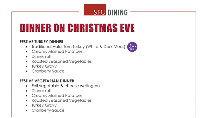 Dinner on Christmas Eve image