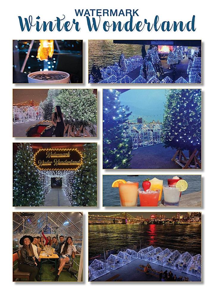 "ALL THURSDAYS: WINTER WONDERLAND- HEATED ""GLASSHOUSES"" @ WATERMARK image"