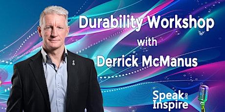 Durability Workshop with Derrick McManus tickets
