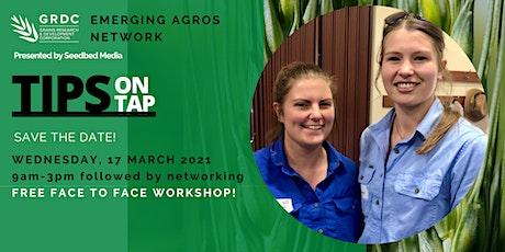 GRDC Emerging Agros Network workshop tickets