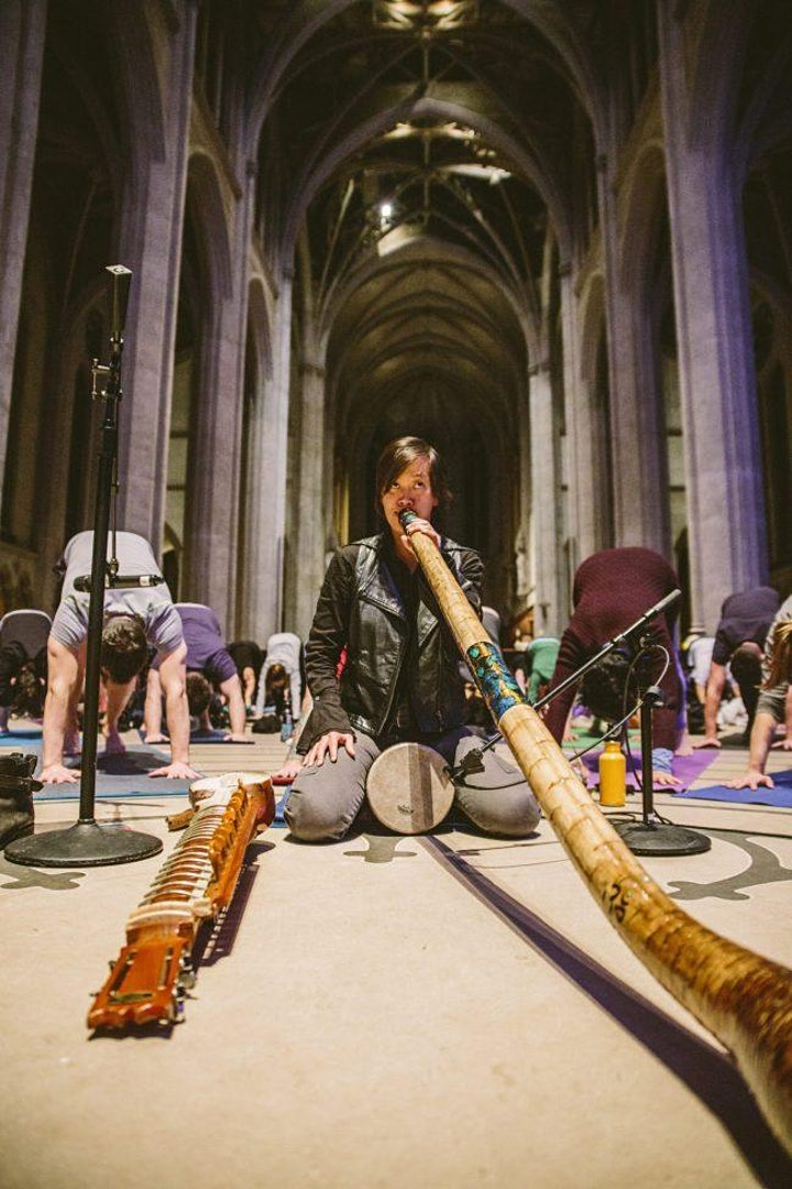 Grace Cathedral  Sound Bath Online image