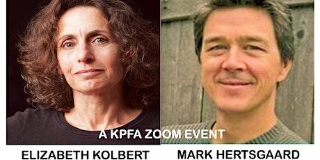 Elizabeth Kolbert & Mark Hertsgaard: Under a White Sky: Nature of Future tickets