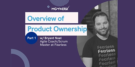 Agile Training Series: Overview of Product Ownership Pt. 1 tickets