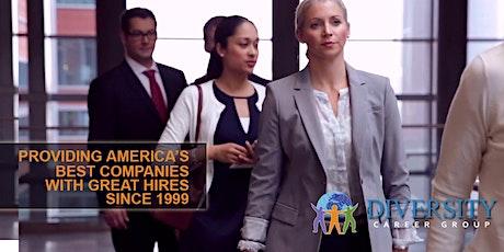 Las Vegas Virtual Career Fair & Diversity Job Fair - June 10, 2021 tickets
