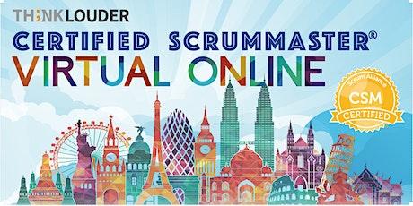 Virtual Live Online CSM | East Coast |Feb 8-9 tickets