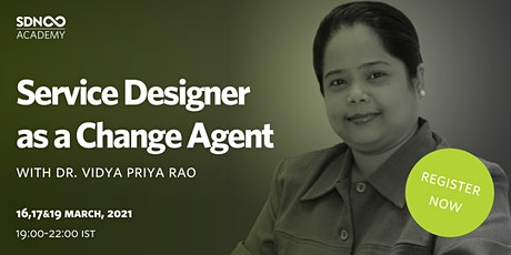 Service Designers as a Change Agent tickets