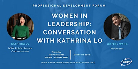 Women in Leadership: Conversation with Kathrina Lo tickets