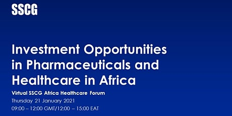 Investment Opportunities in Pharmaceuticals and Healthcare in Africa tickets