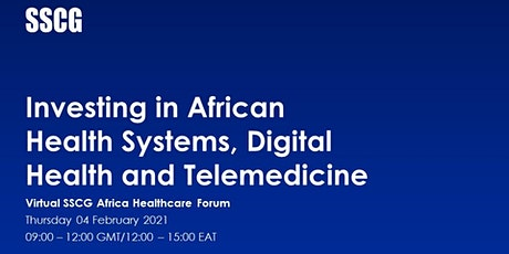Investing in African Health Systems, Digital Health and Telemedicine tickets