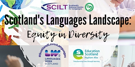 Scotland's Languages Landscape: Equity in Diversity tickets