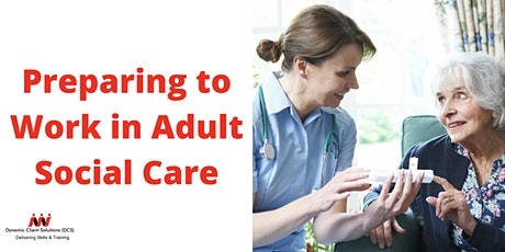 NCFE Level 2 Certificate in Preparing to Work in Adult Social Care (Online) tickets