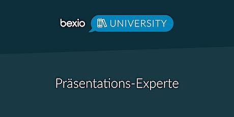 bexio University: Präsentations-Experte Tickets