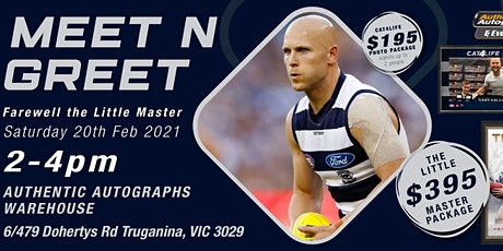 Farewell The Little Master Meet 'n Greet featuring the 2009 Brownlow Medal. tickets
