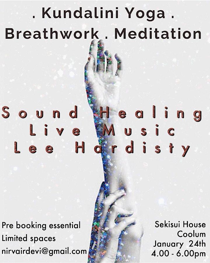 Kundalini Yoga & Sound Healing workshop with Live music image