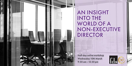 An Insight Into The World of a Non-Executive Director: Half-day Workshop tickets