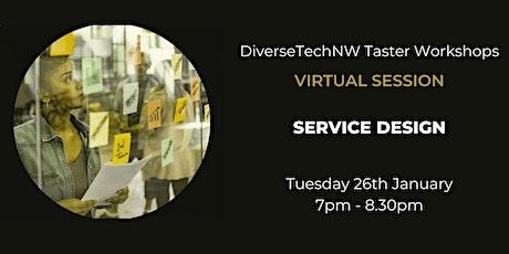 Service Design Taster - DiverseTechNW tickets