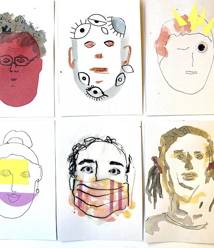Online-Workshop I Selbstporträt I Für 6- bis 14-Jährige: Bild