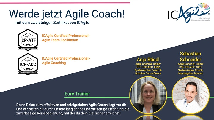 Online: Agile Team Facilitator  - mit Zertifikat ICP-ATF von ICAgile: Bild
