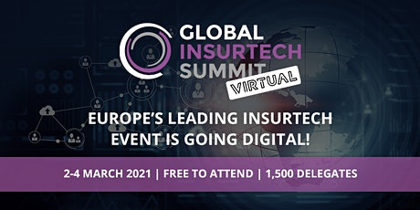 Global InsurTech Summit - Virtual tickets