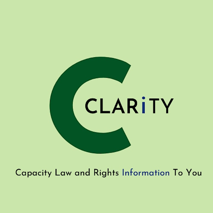 CLARiTY Session 3: Lasting Power of Attorney and Deputyship image