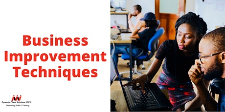 Register your Interest: L2 Certificate in Business Improvement Techniques tickets