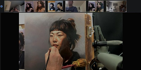 Live Online Portrait Painting Course 2021/22 tickets