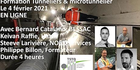 Formation tunneliers par des expert internationaux billets