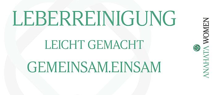 Gemeinsame Leberreinigung März: Bild