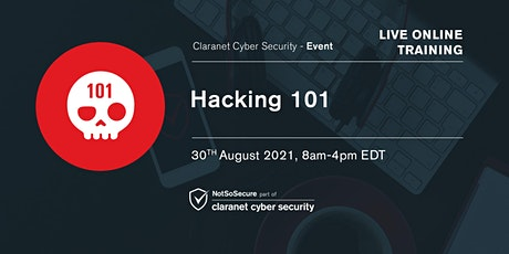 Hacking 101 Live Online Training tickets