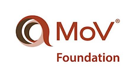Management of Value (MoV) Foundation  2 Days Training in Dunedin tickets