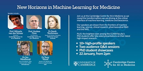 Cambridge Centre for AI in Medicine's Inaugural Event tickets